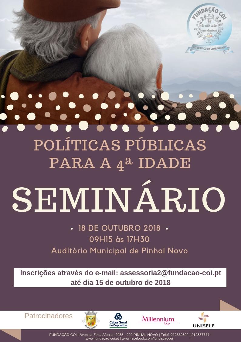 Seminário Políticas Públicas para a 4ª Idade